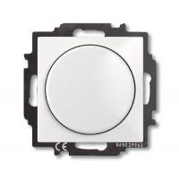 Светорегулятор Busch-Dimmer с центральной платой альпийский белый Basic 55