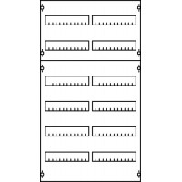 Панель под установку модульных устройств 1ряд/6реек (72 модуля)