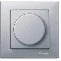 Накладка для  светорегулятора поворотного алюминий System M