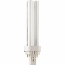 Лампа компактная люм. 13 Вт, G24d-1, 4000К холодный