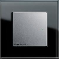 Рамка 1 пост чёрное стекло ESPRIT