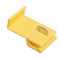 Соединитель-ответвитель Scotchlok с врезным контактом для провода сечением 2,5-4,0 кв.мм желтый