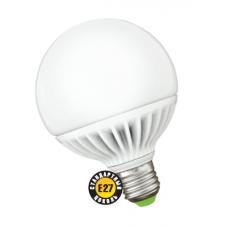 Лампа светодиодная 18 Вт 230В Е27 шар 105мм, тёплый белый 94 146