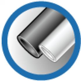 ТУТ 30/15 черная, трубка термоусаживаемая тонкостенная 30/15 мм до 1кВ (-55С+105С)