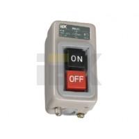 Выключатель кнопочный 3-пол.с блокировкой ВКИ-211 230/400В 6А IP40