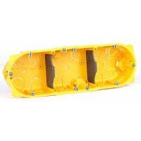 Коробка Batibox для полых стен 6-8 модулей глубина 40мм
