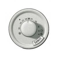 Накладка для терморегулятора теплого пола титан Celiane