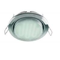 Светильник встраиваемый для КЛЛ 9Вт GX53, без рефлектора 38*106