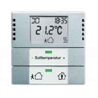 Комнатный термостат, solo алюминий [BJE6124-83]