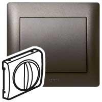 Накладка для выключателя вентилятора темная бронза Galea Life