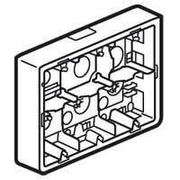 Коробка накладного монтажа 2х6/8мм, 50мм Mosaic