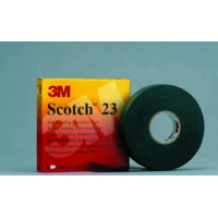 Изолента 19 мм х 9,15 м Scotch 23 резиновая самослипающаяся
