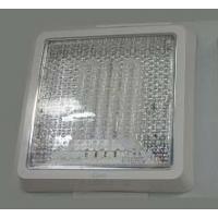 Светильник настенный для КЛЛ 26Вт квадрат прозрачный IP20