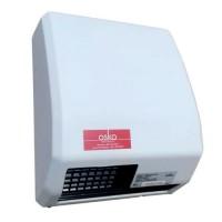 Сушилка для рук 1,5 кВт 220 В поток воздуха 39 л/с корпус метал цвет белый IP23