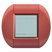 Рамка 2 модуля овальная сиена Living Light (Bticino)