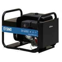 Генератор бензиновый однофазный 5,4 кВА SH6000E-S