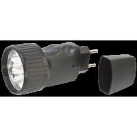 Фонарь-светодиод 5LED аккумулятор-вилка 3,6В 250мАч дальность 30м