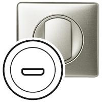 Накладка для розетки аудио/видео HDMI титан Celiane