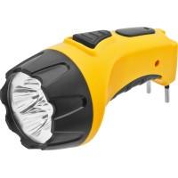 Фонарь-светодиод 5LED аккумулятор-вилка 4В 500мАч дальность 40м