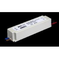 Блок питания LED 40 Вт DC/12В ПЛАСТИК наружного применения IP67