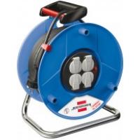 Удлинитель на катушке 4 розетки, 50 м, H05VV-F 3х1,5 (ПВХ), термозащита