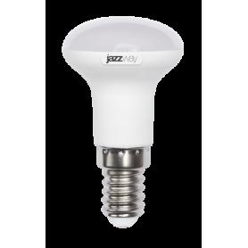 Лампа светодиодная 5 Вт 230В Е14 мини-рефлектор, пластик, белый