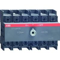 Реверсивный рубильник 100А 3-пол. OT100F3С для установки на DIN-рейку или монтажную плату (1SCA135439R1001)