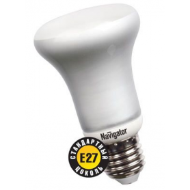 Лампа энергосберегающая 11 Вт Е27 3000K рефлектор, тёплый