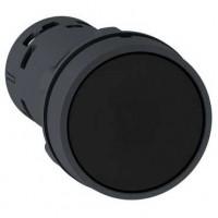 Кнопка черная 1НО+НЗ с возвратом