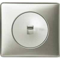 Накладка для выключателя/переключателя с рычажком графит Celiane