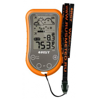 Барометр цифровой для путешественников (термометр, барометр, календарь, будильник(2шт.), счетчик дней)