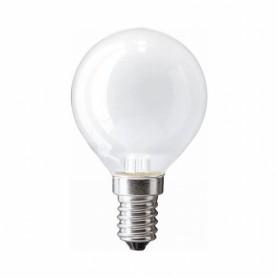 Лампа накал. шар 25 Вт, E14, матовый