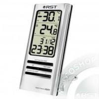 Термометр цифровой , дом/улицанастол.уст.серебряный корпус