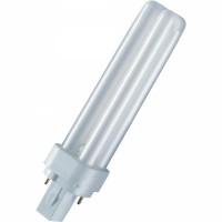 Лампа компактная люм. 18 Вт, G24d-2, 3000К тёплый