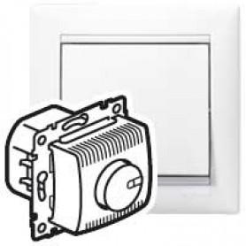 Светорегулятор 100-1000Вт поворотный белый Valena