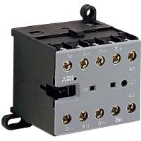 Миниконтактор 12A (400В AC3) катушка 24В DС, 1НО, ВC7-30-10