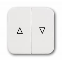 Клавиша для выключателя жалюзи альпийский белый Reflex SI