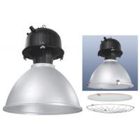 Светильник  подвесной для ДРИ 400 Вт Е40, ст+сет, рассеиватель фасетч. алюминевый