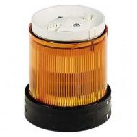 Сегмент световой колонны постоянного свечения оранжевый 70мм со встроенной LED подсветкой 24В AC/DC