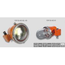 Взрывозащищённый светильник 26Вт GX24q-3 класс 1ExdsIICT6 IP67 аккумулятор 3 часа
