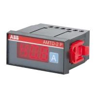 Амперметр цифровой панельный транс.включения для измерения переменного тока 15-999 А с кнопоч.перекл.диап. 36х72мм серия AMTD-1P