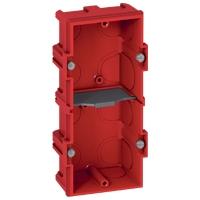 Коробка Batibox для кирпичных стен 4-5 модулей глубина 40мм