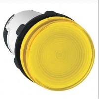 Лампа сигнальная желтая 230В AC без лампы накаливания