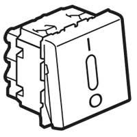 Выключатель 2-х полюсный 20 А 2 модуля с подсветкой Mosaic