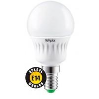 Лампа светодиодная 7 Вт 230В Е14 шарик, холодный белый 94 468