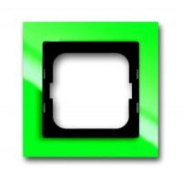 Рамка 1 пост цвет зеленый Axcent