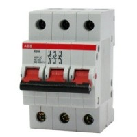 Выключатель нагрузки 3-пол. 63A красный рычаг тип Е200