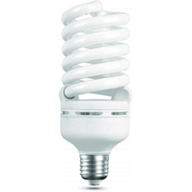 Лампа энергосберегающая 45 Вт Е27 6400К спираль, дневной