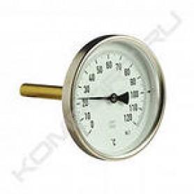 Термометр с погружной гильзой Т63/75 (1/2, 120 С) 03.01.060 Watts