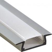 Профиль алюминиевый PAL 2206 врезной (2м) анодированный